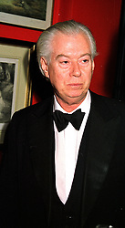 JOHN BEVERIDGE QC  at a party in London on 24th January 2000.OAG 13