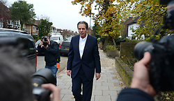 © Licensed to London News Pictures. 28/11/2013. London, UK. Millionaire art dealer Charles Saatchi, arriving at Isleworth Crown Court to give evidence in a case against his two former personal assistants, who are accused of misappropriating over £600,00 of funds while working for Charles Saatchi and his former wife Nigella Lawson .Photo credit : Peter Kollanyi/LNP