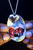 Custom order family pendant by Star Nigro