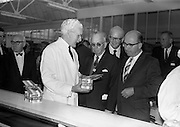 8/9/1964<br /> 9/8/1964<br /> 8 September 1964<br /> <br /> Mr. Nicholas Flynn of Urney Choclates showing some of the finished products to Mr. John Cummings of the Philadelphia Inquirer, Mr Dan Nolan of the San Francisco Examiner, Mr. P.F. Dorgan from the Cork Examiner