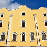 Mikv&eacute; Israel-Emanuel Synagogue in Punda, Eastside of Willemstad, Cura&ccedil;ao <br />