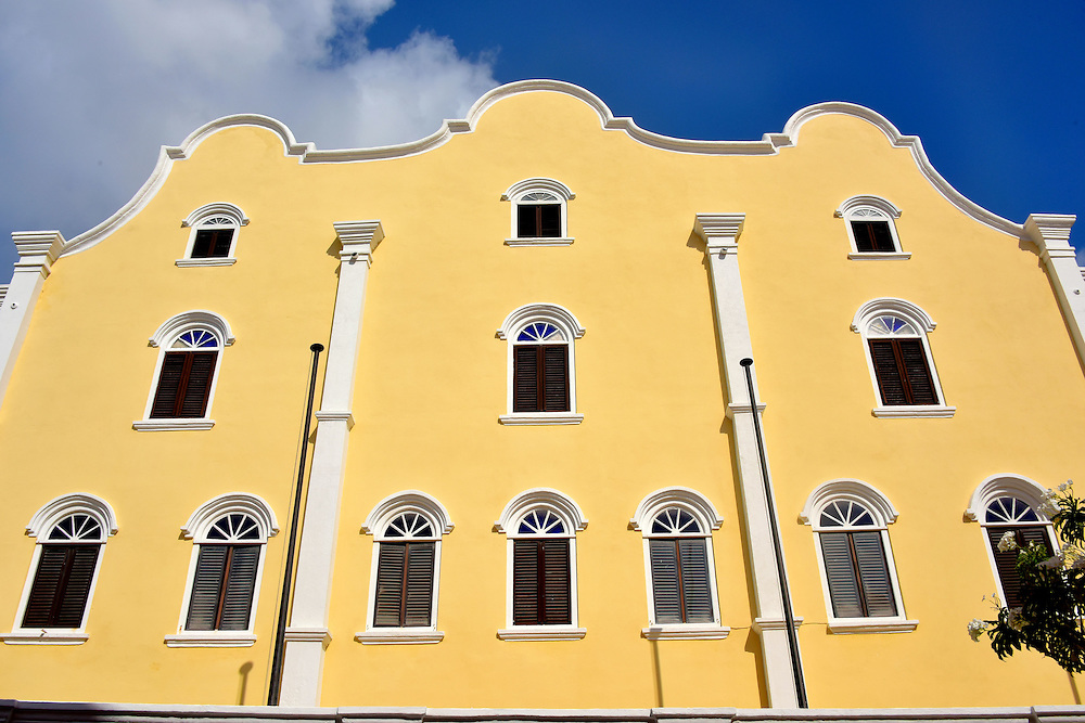 Mikvé Israel-Emanuel Synagogue in Punda, Eastside of Willemstad, Curaçao <br />