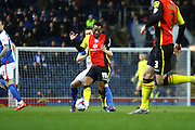 Birmingham City midfielder Jacques Maghoma during the Sky Bet Championship match between Blackburn Rovers and Birmingham City at Ewood Park, Blackburn, England on 8 March 2016. Photo by Pete Burns.