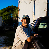 10/28/14 5:55:33 PM -- Cortez, FL, U.S.A  -- John Yates, a former commercial fisherman who was convicted under a major federal document-shredding statute for throwing undersized grouper overboard.  --    Photo by Chip J Litherland, Freelance