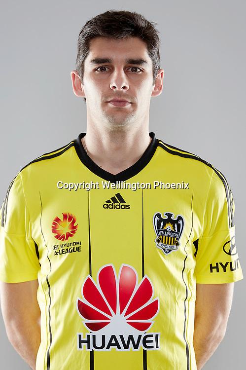 Gui Finkler.<br /> Headshots of the Wellington Phoenix Football team for the Hyundai A-League 2016-17 season.
