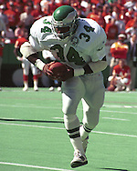 Philadelphia Eagle Herchel Walker (34) during game action against the Kansas City Chiefs at Arrowhead Stadium in Kansas City, Missouri in 1993.