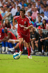 Hong Kong, China - Friday, July 27, 2007: Liverpool's Harry Kewell in action against Portsmouth during the final of the Barclays Asia Trophy at the Hong Kong Stadium. (Photo by David Rawcliffe/Propaganda)