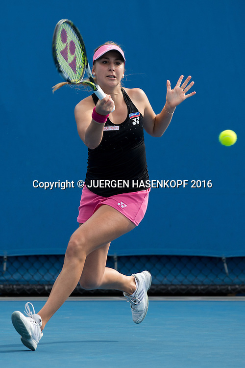 Belinda Bencic, Australian Open 2016<br /> <br /> Tennis - Australian Open 2016 - Grand Slam ITF / ATP / WTA -  Melbourne Park - Melbourne - Victoria - Australia  - 18 January 2016.