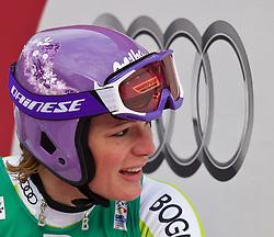 13.02.2011, Kandahar, Garmisch Partenkirchen, GER, FIS Alpin Ski WM 2011, GAP, Damen Abfahrt, im Bild dritte, bronze Medaille Maria Riesch (GER) // third, bronze Medal Maria Riesch (GER) during womens Downhill, Fis Alpine Ski World Championships in Garmisch Partenkirchen, Germany on 13/2/2011, 2011, EXPA Pictures © 2011, PhotoCredit: EXPA/ J. Feichter