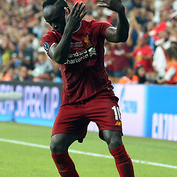 Sadio Mane of Liverpool  during the UEFA SUPERCUP match between Liverpool and Chelsea at Vodafone Park in Istanbul , Turkey on August 14 , 2019. <br /> Photo : Seskimphoto / Icon Sport