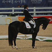 Ashley Gowanlock and Donnymaskell at the Hong Kong Venue of the 2008 Paralympic Games