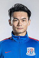 **EXCLUSIVE**Portrait of Chinese soccer player Zhang Lu of Shanghai Greenland Shenhua F.C. for the 2018 Chinese Football Association Super League, in Shanghai, China, 2 February 2018.