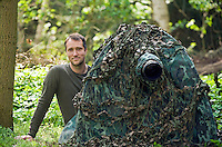 Portrait; Dieter Damschen; Photographer; Mission: Black Storks River Elbe Germany