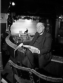 1962 - Ernest Blythe (Earnán de Blaghd), Managing Director of the Abbey Theatre