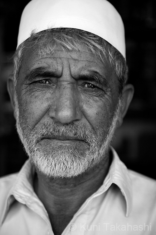 Noor Agha, 57, hardware shop owner, in Kabul, Afghanistan on Aug 14, 2011.(Photo by Kuni Takahashi)