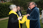 CORINNE POUX-BERNARD; PETER PRENTICE, Perdurity: A Moving Banquet of Time. Royal Salute curates a timeless evening at Hampton Court Palace with Marcos Lutyens, 2 June 2015.