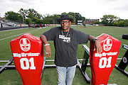Ted Ginn  Photos taken of Glenville senior Marshon Lattimore and football coach Ted Ginn Sr. at Glenville High School on Monday, July 29, 2013.