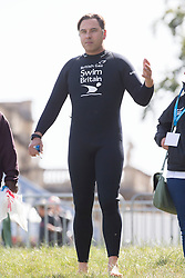 David Walliams<br /> Celebrities take part in the British Gas SwimBritain at Blenheim Palace, Oxfordshire, United Kingdom. Sunday, 1st September 2013. Picture by i-Images