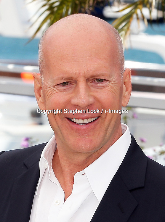 Bruce Willis  at a photo-call for his new film Moonrise Kingdom on the opening day of the Cannes Film Festival, Wednesday  16th May 2012. Photo by: Stephen Lock / i-Images