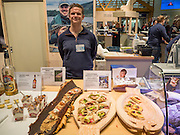 Lasse Hestetun, Akevittruten, Norway, Norwegen, Berlin. Grüne Woche, Norway on the International Food Festival Green Week.