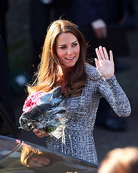 Catherine, Duchess of Cambridge visits Hope House, an Action on Addiction women's treatment centre in London, UK. 19/02/2013<br />BYLINE MUST READ : GOTCHAIMAGES.COM<br /><br />Copyright by &copy; Gotcha Images Ltd. All rights reserved.<br />Usage of this image is conditional upon the acceptance <br />of Gotcha Images Ltd, terms and conditions available at<br />www.gotchaimages.com
