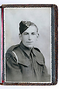 British soldier portrait
