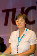 Christine Blower, Deputy General Secretary NUT, speaking at the TUC 2006...© Martin Jenkinson, tel 0114 258 6808 mobile 07831 189363 email martin@pressphotos.co.uk. Copyright Designs & Patents Act 1988, moral rights asserted credit required. No part of this photo to be stored, reproduced, manipulated or transmitted to third parties by any means without prior written permission