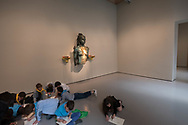 "Venezia - Palazzo Grassi . La mostra di Damien Hirst: ""Tresaures from the Wreck of Unbelievable. ""Aspect of Katie Ishtar Yo-landi""."