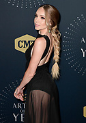 NASHVILLE, TN - OCTOBER 18:  Recording Artist Danielle Bradbery attends the 2017 CMT Artists Of The Year awards at Schermerhorn Symphony Center on October 18, 2017 in Nashville, Tennessee.  (Photo by Mickey Bernal/FilmMagic)