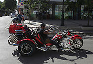 motorbikers in France