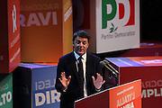 Firenze, 08 Dicembre 2013 - Teatro Obi Hall Primarie PD.  Matteo Renzi segretario PD