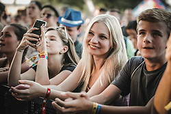 July 5, 2018 - Hradec Kralove, Czech Republic - Audience attended the Rock For People Festival. (Credit Image: © Krzysztof Zatycki/Pacific Press via ZUMA Wire)