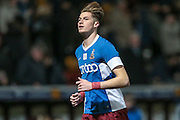 Reece Burke (Bradford City) before the Sky Bet League 1 match between Bradford City and Southend United at the Coral Windows Stadium, Bradford, England on 16 February 2016. Photo by Mark P Doherty.