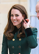 KATE Middleton & Prince William Visit Elysee Palais, Paris 2