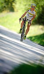 07.05.2011, Fentsch, AUT, Fototermin Christoph Strasser, im Bild Christoph Strasser waehrend einer Trainingsfahrt. Christoph Strasser ist 2-facher Ultra Radmarathon Weltmeister und bestreitet heuer das Race Across America. Er nutzt das unmittelbar bevorstehende Race Around Slovenia als Formtest für seinen Saisonhoehepunkt im Juni, EXPA Pictures © 2011, PhotoCredit: EXPA/ S. Zangrando