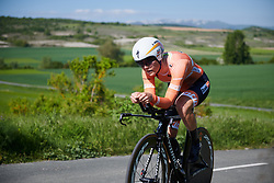 Amalie Dideriksen (DEN) at Emakumeen Bira 2018 - Stage 2, a 26.6 km time trial from Agurain to Gasteiz, Spain on May 20, 2018. Photo by Sean Robinson/Velofocus.com