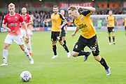 Cambridge United forward George Maris in action during the EFL Sky Bet League 2 match between Salford City and Cambridge United at Moor Lane, Salford, United Kingdom on 12 October 2019.