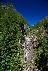Gorge Creek Falls, North Cascades National Park, Washington, United States of America