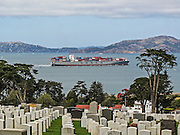 Presidio National Cemetery at San Francisco Bay