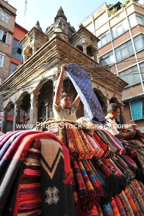 Asia, Nepal, Kathmandu, market