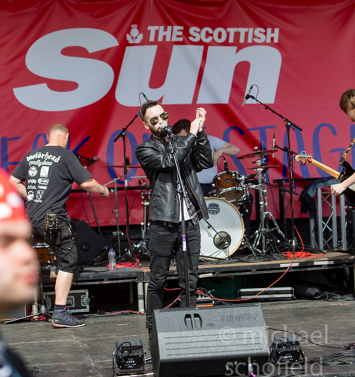 Aurora Blues on the Sun Break Out stage. Saturday at Party at the Palace 2017, Linlithgow.