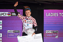 Susanne Andersen (NOR) is the best Norwegian rider at Ladies Tour of Norway 2018 Stage 1, a 127.7 km road race from Rakkestad to Mysen, Norway on August 17, 2018. Photo by Sean Robinson/velofocus.com