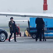 NLD/Amserdam/20131116 - Khloe Kardashian arriving with a private jet on Schphol Airport Amsterdam,