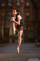Dance As Art Streets of New York West Village Series with dancer Janna Davis