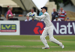 Gareth Roderick of Gloucestershire - Photo mandatory by-line: Dougie Allward/JMP - Mobile: 07966 386802 - 08/07/2015 - SPORT - Cricket - Cheltenham - Cheltenham College - LV=County Championship 2