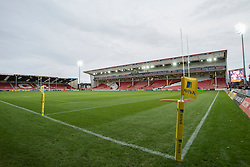 General view inside the Kingsholm stadium.  - Mandatory by-line: Alex James/JMP - 19/11/2016 - RUGBY - Kingsholm - Gloucester, England - Gloucester Rugby v Wasps - Aviva Premiership