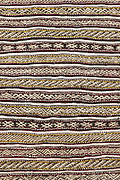 Pattern of a traditional Moroccan Berber carpet.