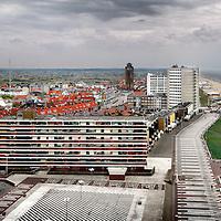Nederland, Zandvoort , 8 mei 2013..skyline van Zandvoort in panorama..Foto:Jean-Pierre Jans
