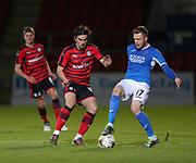 06/10/2017 - St Johnstone v Dundee - Dave Mackay testimonial at McDiarmid Park, Perth, Picture by David Young - Dundee's Jon Aurtenetxe and St Johnstone's Denny Johnstone