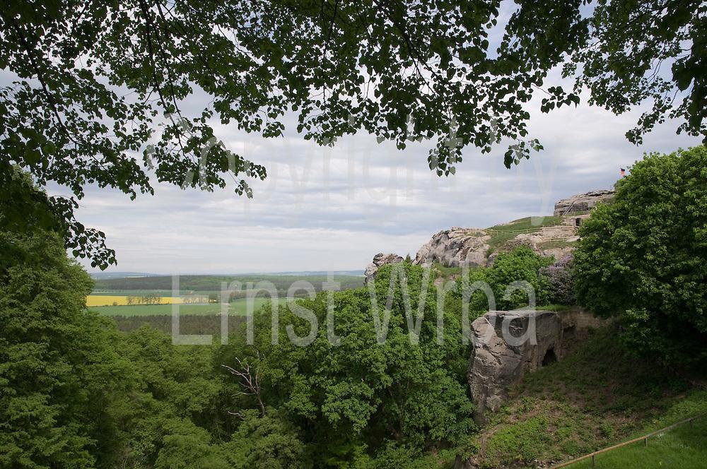 Burgruine Regenstein Blankenburg, Harz, Sachsen-Anhalt, Deutschland | castle ruin Regenstein, Blankenburg, Harz, Saxony-Anhalt, Germany